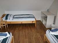 Ložnice 2 - pohled od vikýře - Buchlovice