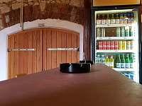 Bar s posezením - apartmán ubytování Sedlec