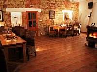 Společenská místnost - ubytování Buchlovice