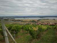 pohled z Pálavy na mušovska jezera - Horní Věstonice