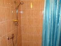 Koupelna+WC č.2 - chalupa ubytování Nechory