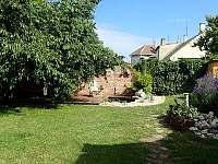 Dvorek - apartmán k pronajmutí Dolni Dunajovice