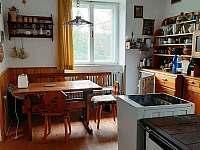 Apartmán 1 - kuchyň - chalupa k pronajmutí Kochov