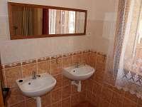koupelna - chata ubytování Vranovská přehrada
