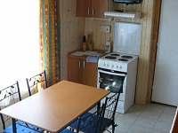 Kuchyň B - chata k pronájmu Jedovnice