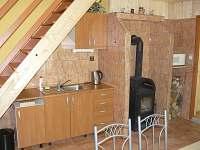 Kuchynská linka A - chata k pronájmu Jedovnice