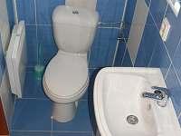 WC - chata k pronájmu Jedovnice
