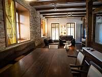 Společné prostory - chalupa ubytování Vranov nad Dyjí