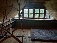 Obytné podkroví - chalupa ubytování Žítková