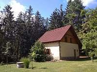 Chata Kněždub - Boční pohled