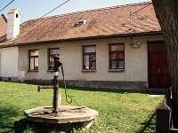 Chalupa ubytování v obci Jiřice u Moravských Budějovic