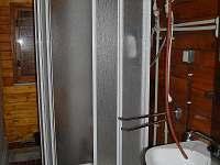 Koupelna - chata k pronájmu Bítov