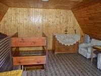 Vrchní patro - chata ubytování Bítov