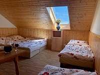 Čtyřlůžkový pokoj - chalupa ubytování Prušánky - Nechory