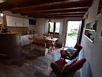Hlavní místnost - chalupa ubytování Prušánky - Nechory