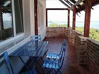 Neró - terasa - apartmán k pronájmu Pavlov