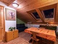 Podkrovní apartmán pro větší partu lidí