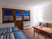 Pokoj s vlastní terasou. Hotová romantika ve vinném sklepě
