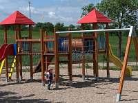 Nové krásné dětské hřiště v obci