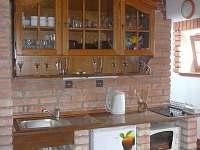 kuchyn spojená se společenskou místností- přízemí