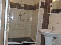 Koupelna - sprchový kout s žulovou vaničkou