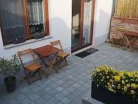 Apartmán 2 - terasa - Hustopeče