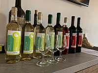 Nabídka vín - apartmán k pronájmu Hustopeče