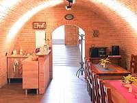 Sklep - posezení - apartmán ubytování Hustopeče