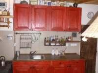 Kuchyň - pronájem chalupy Kuničky