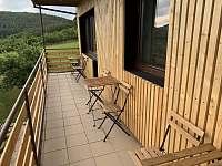 Balkón - pronájem chaty Břestek