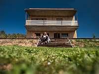 Terasa-zahrada - chata ubytování Břestek