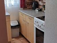 Kuchyňský kout - chata k pronájmu Podhradí nad Dyjí