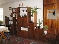 obývací stěna v přízemí - Hrušky