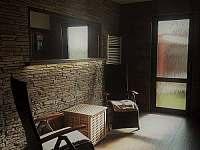 relaxační místnost - rekreační dům ubytování Hrušky