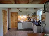 Kuchyně - Chalupa Lucie - ubytování Suchý