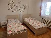 Dvoulůžkový pokoj - ubytování Velké Bílovice