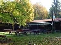 Občerstvení Bufet u zastávky cca 150m od chaty - Radějov