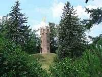 Čechy pod Kosířem - vyhlidková věž - Plumlov
