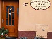 Ubytování v Plumlově u Strupků - apartmán k pronájmu