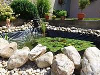 Zahrada - pronájem apartmánu Plumlov