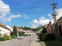 Výhled na Pálavu (Martinku)před penzionem - Horní Věstnice