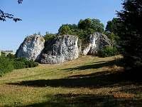 Okolí - skály Kolíbky (cca 200m)