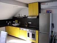 kuchyňská linka - pronájem apartmánu Prušánky
