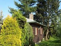 Chata Luleč - pohled ze zahrady