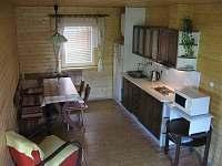 kuchyňka - ptačí pohled :-) - chata ubytování Luleč