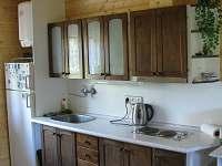 kuchyňská linka - pronájem chaty Luleč