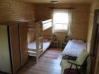ložnice - chata k pronajmutí Luleč
