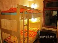 Ložnice s patrovými postelemi - Jedovnice