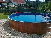 Chalupa k pronajmutí - dovolená  Pístovický rybník rekreace Molenburk