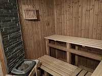 Sauna - suterén Jeníkovy chaty